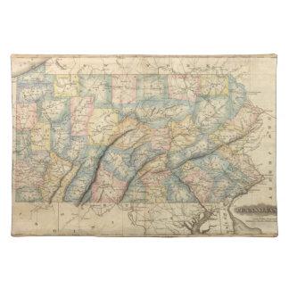 Pennsylvania 8 placemat
