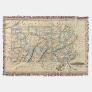 Pennsylvania 8 throw blanket