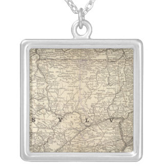 Pennsylvania 9 silver plated necklace