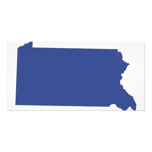 Pennsylvania -a BLUE state Personalized Photo Card