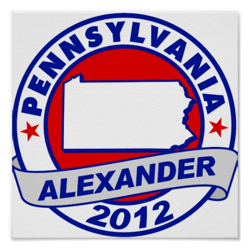 Pennsylvania Alexander Poster