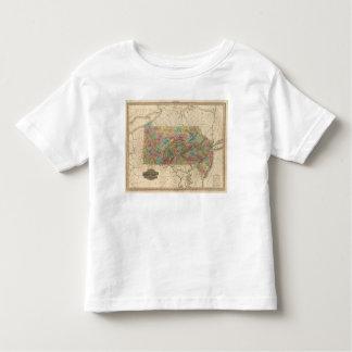Pennsylvania and New Jersey Toddler T-Shirt