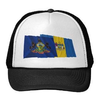 Pennsylvania and Philadelphia Flags Cap