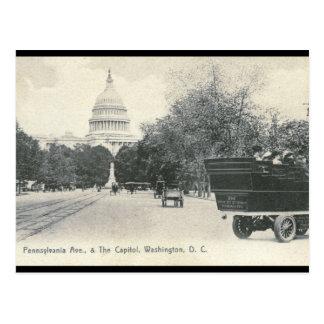 Pennsylvania Ave., Washington DC 1906 Vintage Postcard