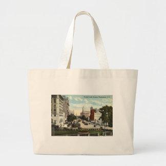 Pennsylvania Ave Washington DC Repro Vintage 1912 Canvas Bag