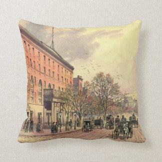Pennsylvania Avenue and 6th Street 1860 Cushion