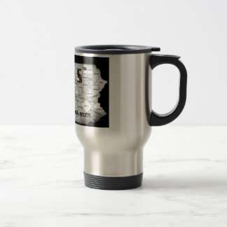 pennsylvania-county-map travel mug