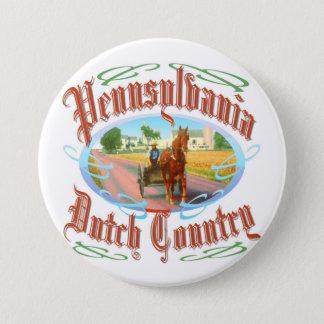 Pennsylvania Dutch Country 7.5 Cm Round Badge