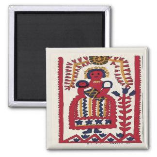 Pennsylvania Dutch Folk Art Madonna Magnet