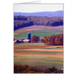 Pennsylvania Farm in Autumn Greeting Card