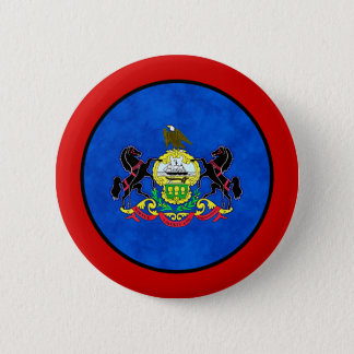 PENNSYLVANIA FLAG 6 CM ROUND BADGE
