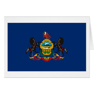 Pennsylvania Flag Greeting Card
