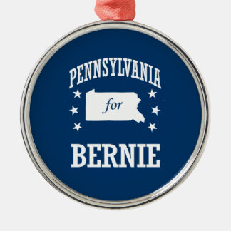 PENNSYLVANIA FOR BERNIE SANDERS CHRISTMAS ORNAMENT