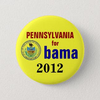 Pennsylvania for Obama 2012 6 Cm Round Badge