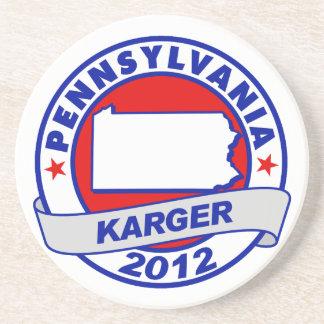 Pennsylvania Fred Karger Coasters