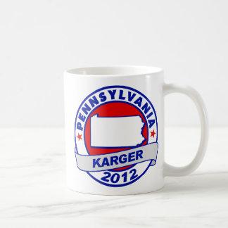 Pennsylvania Fred Karger Mugs