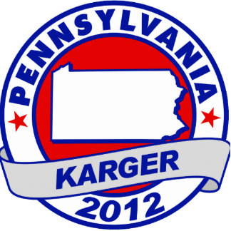 Pennsylvania Fred Karger Cut Out