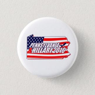 Pennsylvania & Hillary 2016 3 Cm Round Badge
