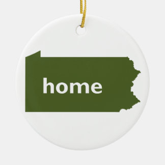 Pennsylvania Home Christmas Ornament