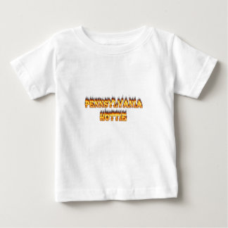 pennsylvania hottie fire and flames tshirt