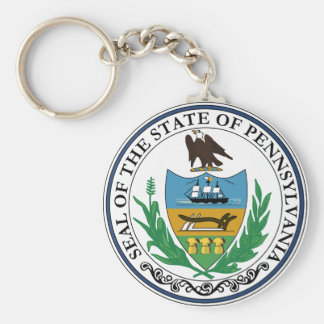 Pennsylvania Keychain