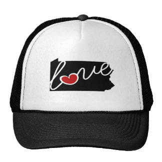 Pennsylvania Love!  Gifts for PA Lovers Cap