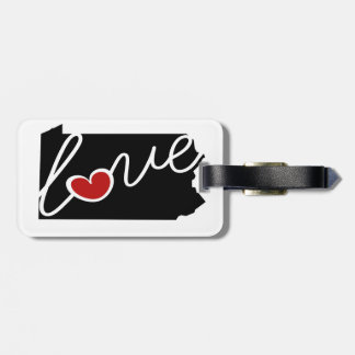 Pennsylvania Love!  Gifts for PA Lovers Tags For Bags