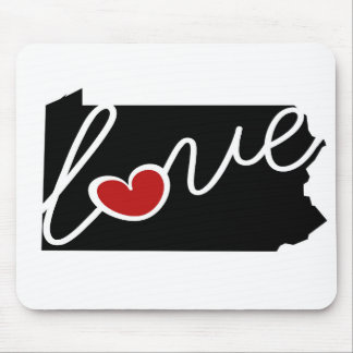Pennsylvania Love!  Gifts for PA Lovers Mouse Pad