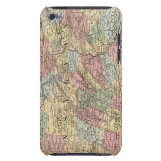 Pennsylvania Map by Mitchell iPod Case-Mate Case