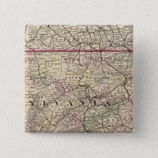 Pennsylvania, Maryland, New Jersey, Delaware 15 Cm Square Badge