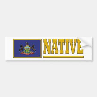 Pennsylvania Native Bumper Sticker