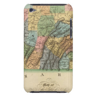 Pennsylvania, New Jersey 2 Barely There iPod Cover