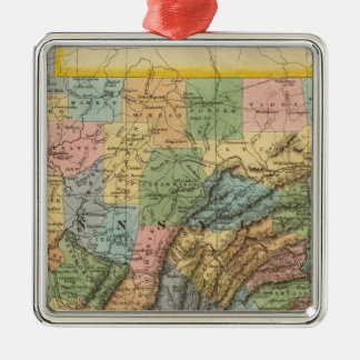 Pennsylvania, New Jersey 2 Christmas Ornament