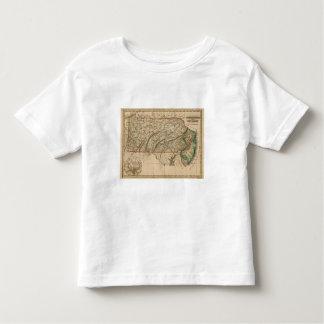 Pennsylvania, New Jersey Toddler T-Shirt