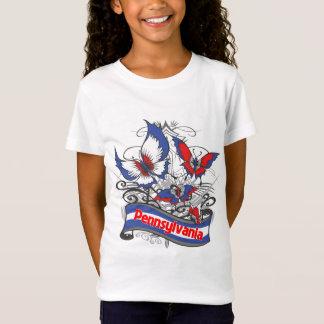 Pennsylvania Patriotism Butterfly T-Shirt