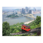 Pennsylvania Pittsburgh Duquesne Incline Train Postcard