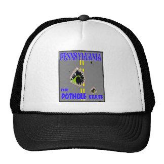 "Pennsylvania ""pothole state"" hat"