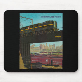 Pennsylvania Railroad Annual Report 1960 Mouse Mat