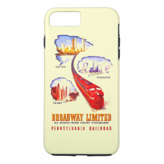 Pennsylvania Railroad Broadway Limited Streamliner iPhone 7 Plus Case