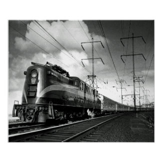 Pennsylvania Railroad Congressional Poster