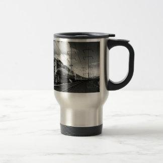 Pennsylvania Railroad Congressional Travel Mug