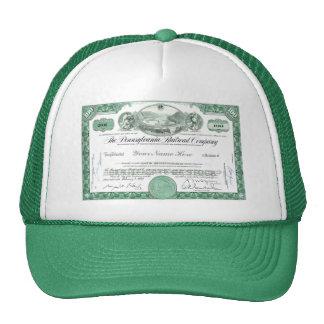 Pennsylvania Railroad CUSTOM Stock Certificate Cap