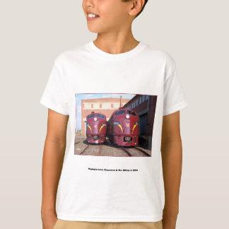 Pennsylvania Railroad E-8a,s 5809 and 5811 Kids T-Shirt