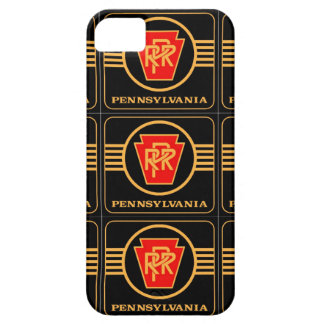 Pennsylvania Railroad Logo, Black & Gold Barely There iPhone 5 Case