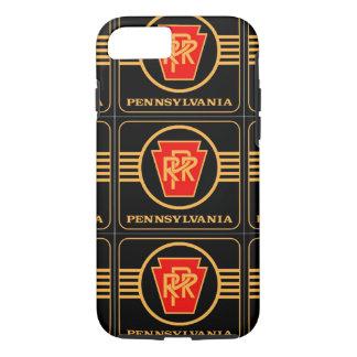 Pennsylvania Railroad Logo, Black & Gold iPhone 8/7 Case