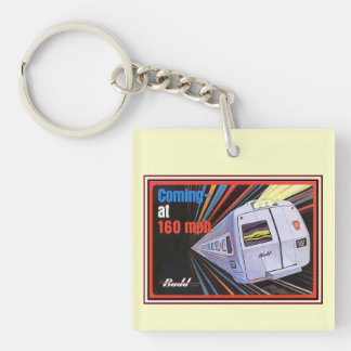 Pennsylvania Railroad Metroliner 1967 Keychain