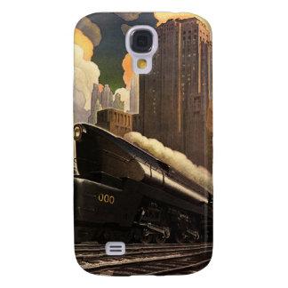 Pennsylvania Railroad Poster Galaxy S4 Case