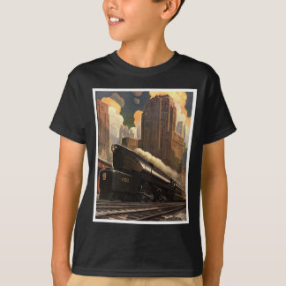 Pennsylvania Railroad Poster T-Shirt