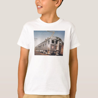 Pennsylvania Railroad Silverliner Electric Coach T-Shirt