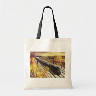 Pennsylvania Railroad Tanker Trains 1942 Tote Bag